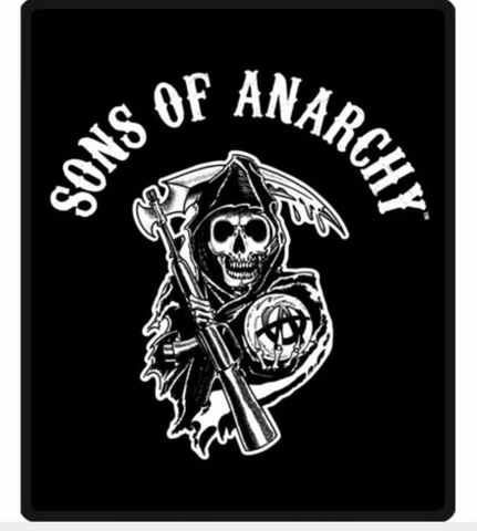 Sons Of Anarchy Reaper Queen Blanket