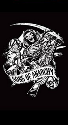 Sons of Anarchy Reaper Beach Towel