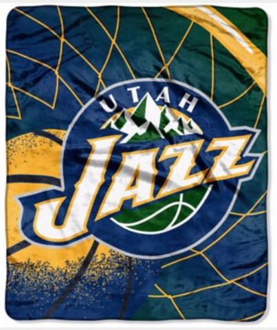 Utah Jazz Twin Blanket