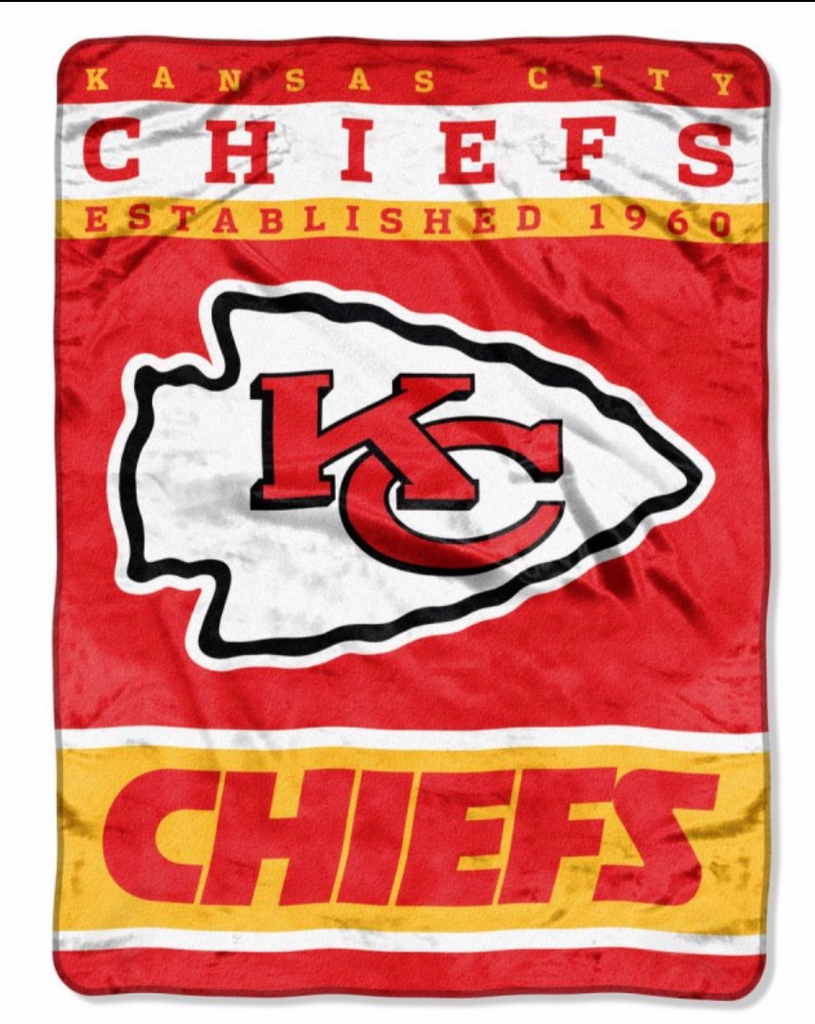 Kansas City Chiefs Twin Blanket
