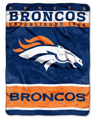 Denver Broncos Twin Blanket
