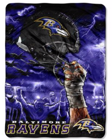 Baltimore Helmet Twin Blanket