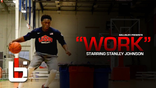 "Stanley Johnson ""Work"""