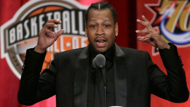 Allen Iverson HOF Enshrinement Speech