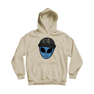 Alien Man From The Sand Hoodie