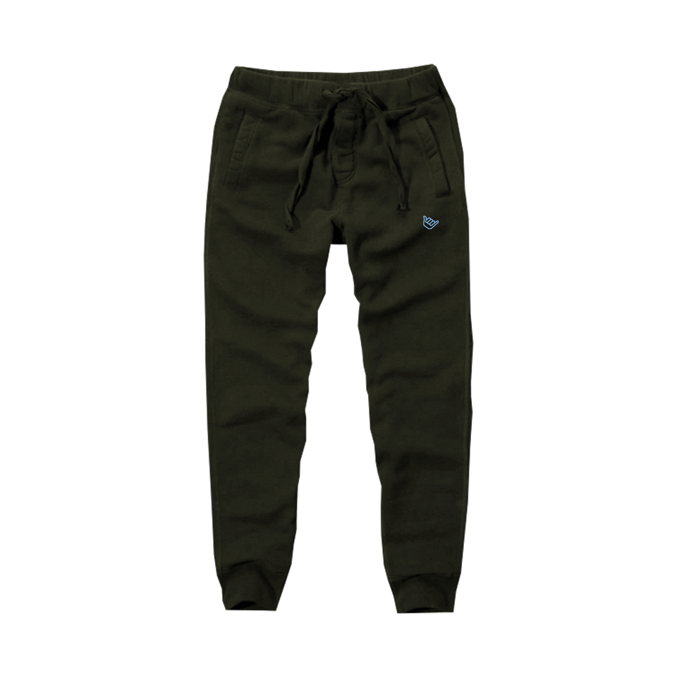 Skyblue Small Shaka Joggers - Olive