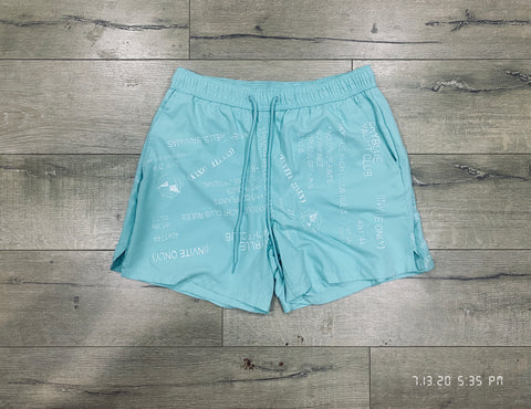 Skyblue Yacht Club Swim Shorts