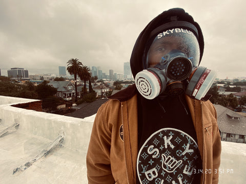 Skyblue Protective Gas Masks