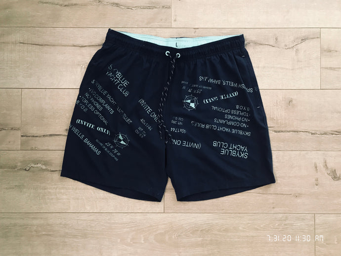 Navy Yacht Club Shorts
