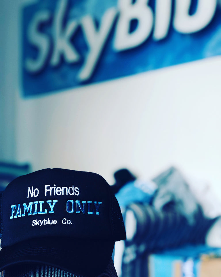 Skyblue FAMILY Cap