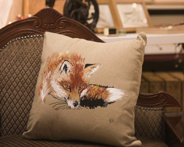 Cushion- fox