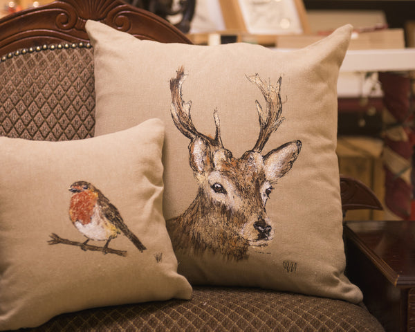cushion- stag
