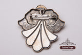 Biker's Guardian Angel Pin - FREE SHIPPING! (#5)