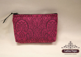 Zippered Cosmetic & Toiletry Bag - FREE SHIPPING!