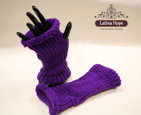Purple Hand Warmers - FREE SHIPPING!