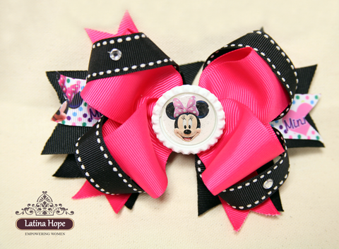 Minnie Mouse Bow - FREE SHIPPING!