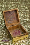 Small Wooden Decoupaged Box