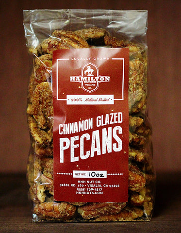 Cinnamon Glazed Pecans (10 oz)