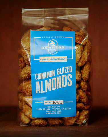 Cinnamon Glazed Almonds (10 oz)