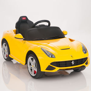 Licensed Ferrari F12 Yellow - My Tiny Wheels