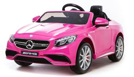 Mercedes S63 Pink - My Tiny Wheels