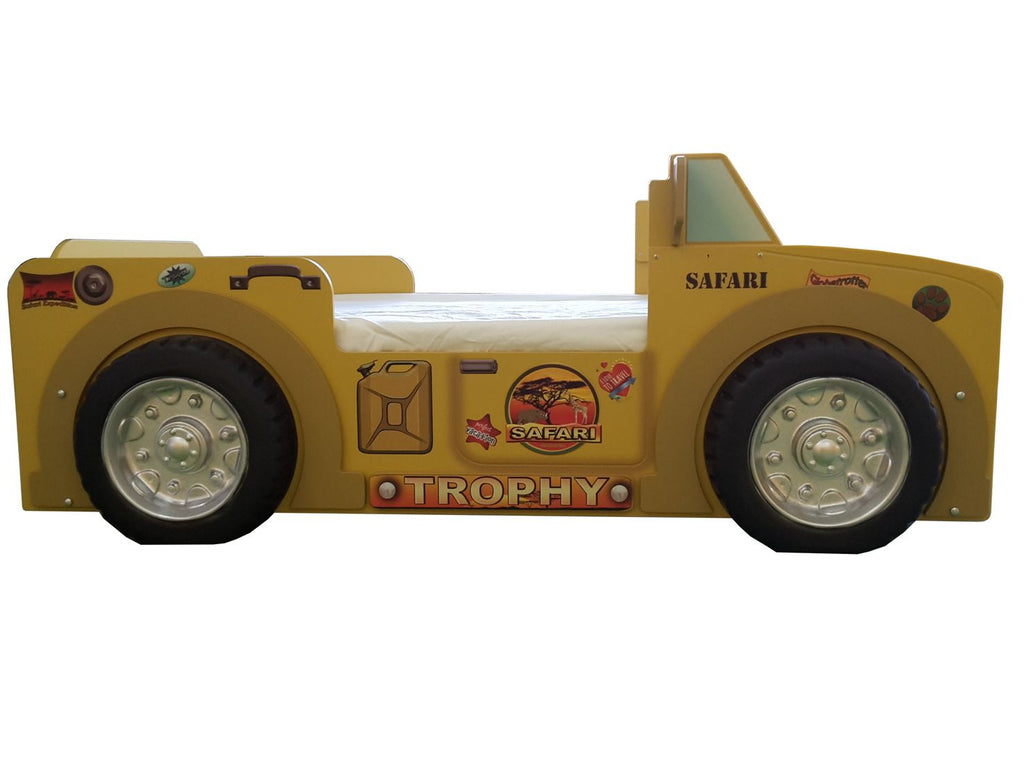 Safari Jeep Toddler Bed - Buy Online on My Tiny Wheels