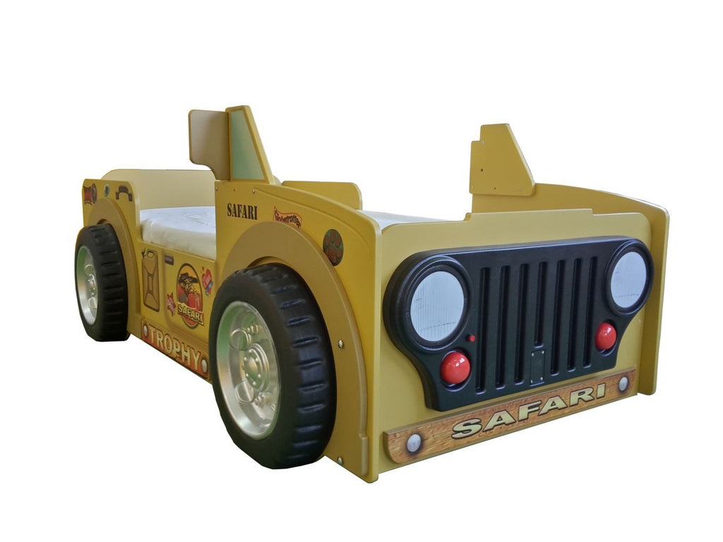 Safari Jeep Toddler Bed - My Tiny Wheels