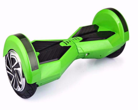 R8 Series Two wheels Self-Balancing Scooter 8 inches Wheels Bluetooth Speakers - Green - GarageN1  - 1