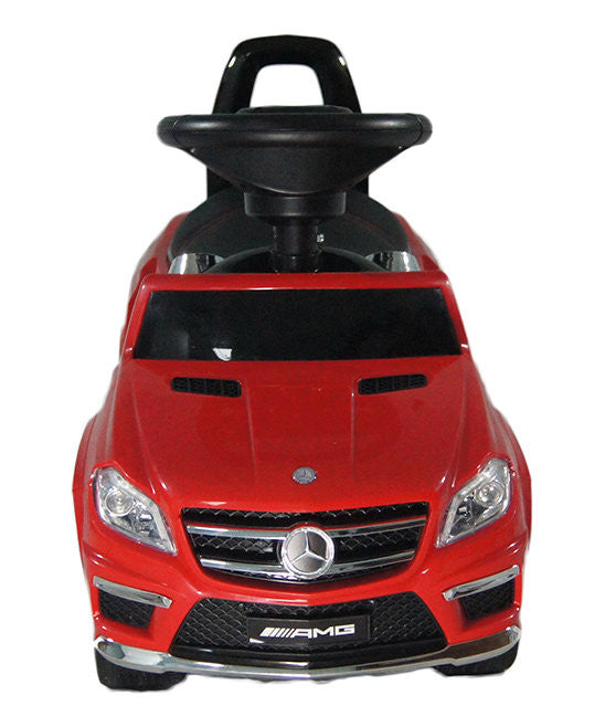 4-in-1 Mercedes Benz Kids Push Car | Red - My Tiny Wheels