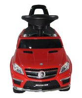 4-in-1 Mercedes Benz Kids Push Car | Red