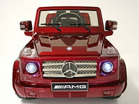 Mercedes Benz G55 Burgundy