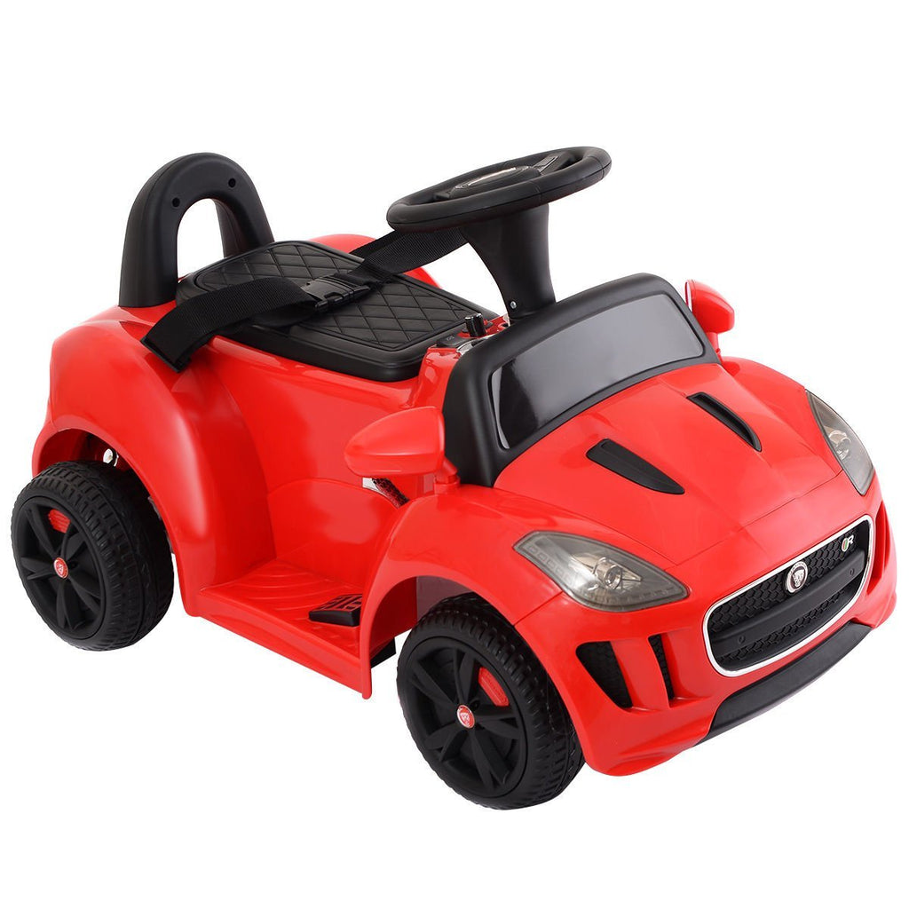 Jaguar Push Car 6V Red - My Tiny Wheels