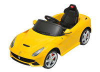 Licensed Ferrari F12 Yellow