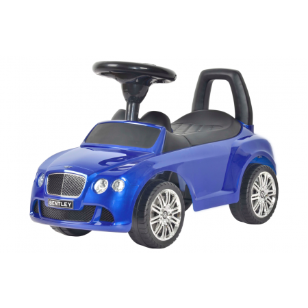 Luxury Bentley Push Car Blue - My Tiny Wheels