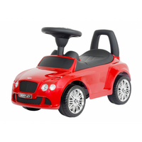 Luxury Bentley Push Car Red