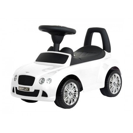 Luxury Bentley Push Car White - My Tiny Wheels