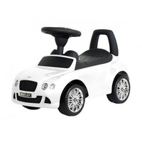 Luxury Bentley Push Car White