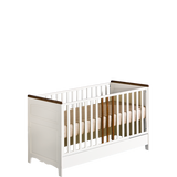 "Crib For Toddler  ""Provence"" ECO Friendly Materials Openable Rails - My Tiny Wheels"