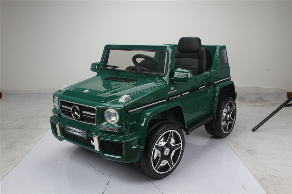 Licensed Mercedes Benz G63 12 V Green - My Tiny Wheels