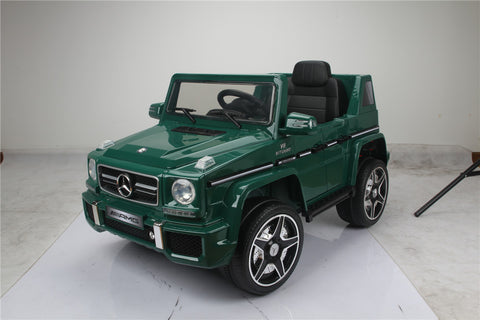 Licensed Mercedes Benz G63 12 V Green