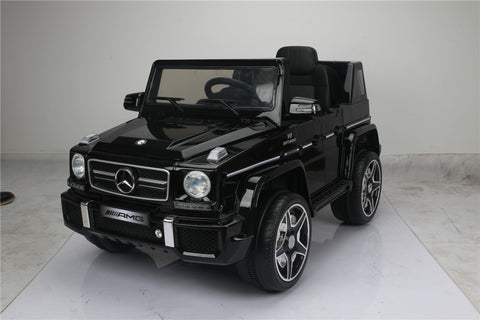 Licensed Mercedes Benz G63 12 V Black