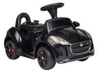 Jaguar Push Car 6V Black
