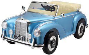 Mercedes 300S Blue for kids