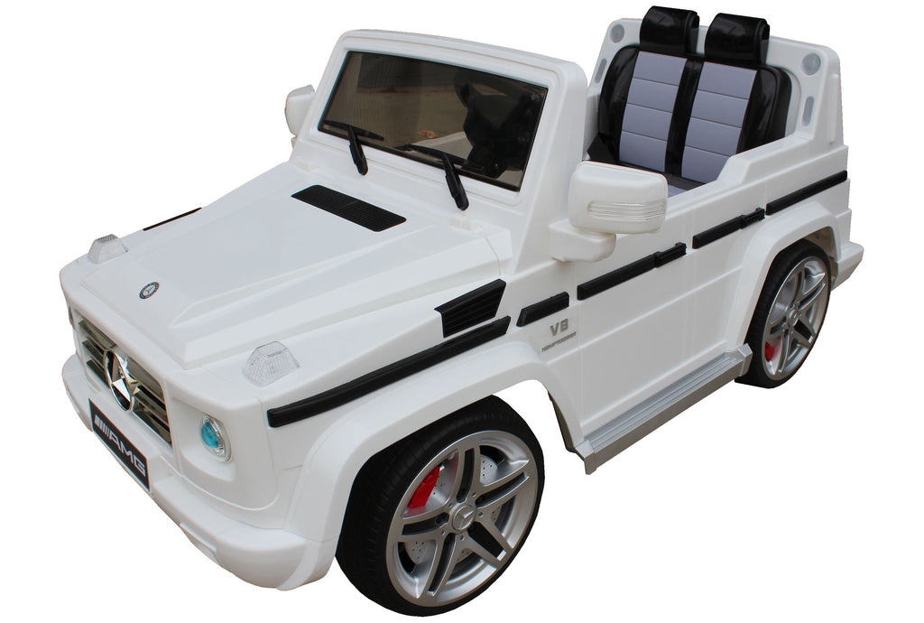 Mercedes Benz G55 White - My Tiny Wheels