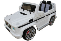 Mercedes Benz G55 White