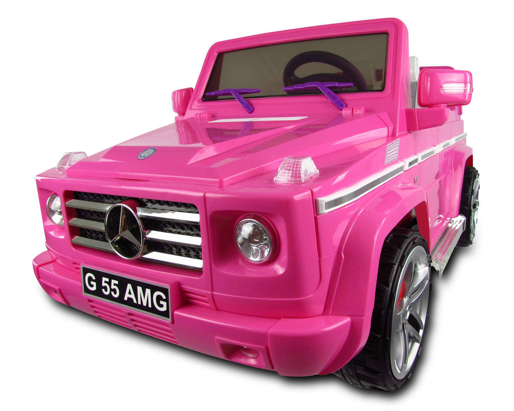 Licensed Mercedes Benz G55 12 V Pink - My Tiny Wheels