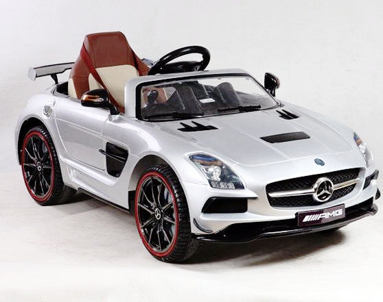 Mercedes SLS AMG Silver - My Tiny Wheels
