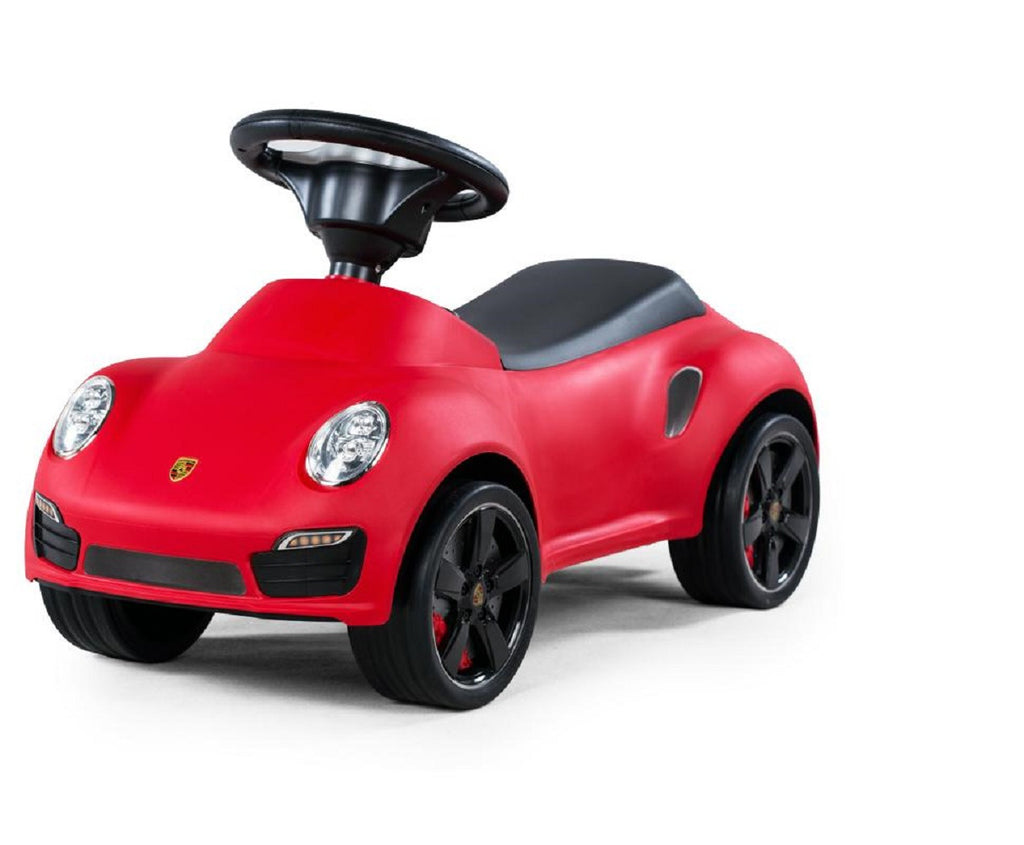Licensed Porsche 911 Turbo Push Car Red - My Tiny Wheels