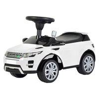 Licensed Range Rover Push Car White