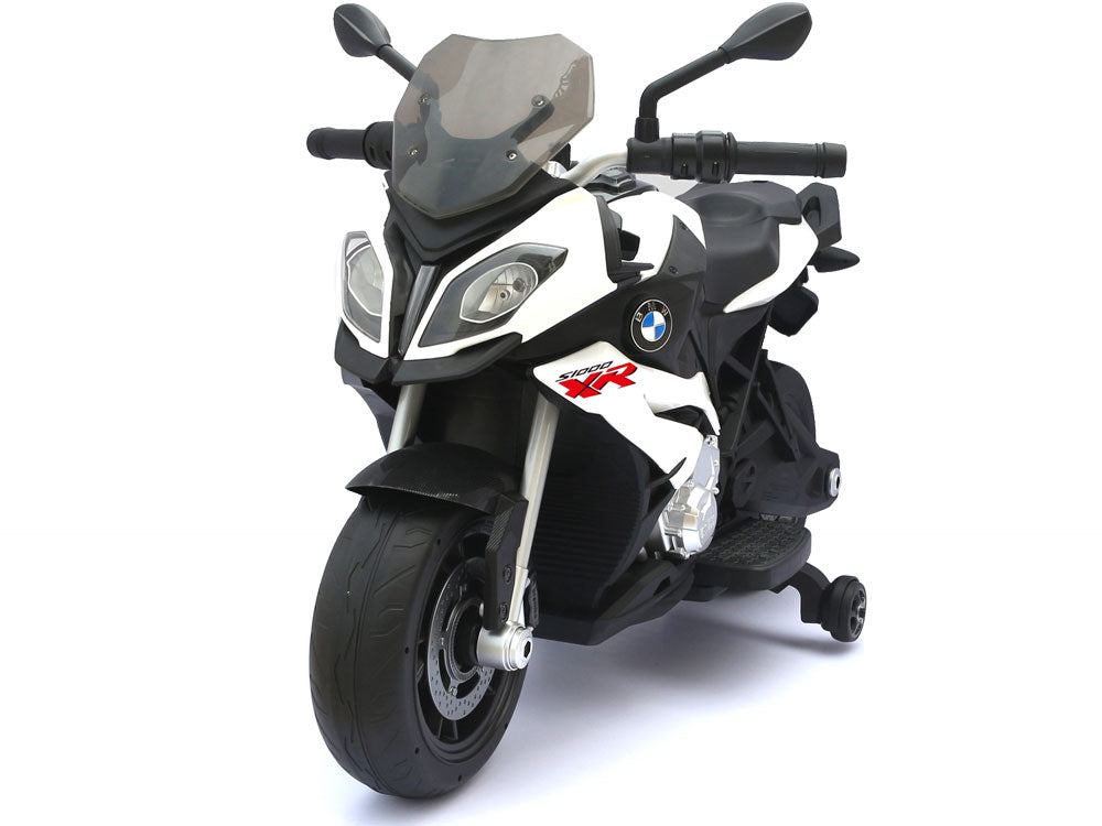BMW S1000XR 12v Motorcycle White - My Tiny Wheels